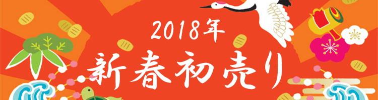 2018 新春初売りキャンペーン