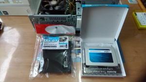 FMV DESKPOWER CE/E45(FMVCEE45G) SSDへ交換