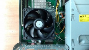 FMV DESKPOWER CE/E45(FMVCEE45G) CPUFAN清掃
