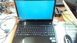 Lavie LS550/D(PC-LS550DS2KS) パソコンクリーニング