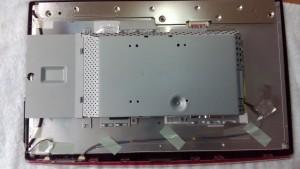 LG FLATRON W2261VG 電源が入らない 分解