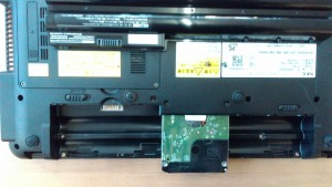 Lavie LS550/D(PC-LS550DS2KS) HDD取り出し