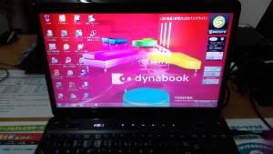 dynabook Qosmio T560/T4AB(PT560T4ABTB) リカバリ