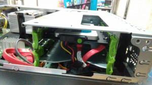 PRIMERGY MX130 S2 SSD換装完了