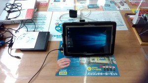 TOSHIBA Dynabook Tab S50 MODEL:WT10-A リカバリ完了