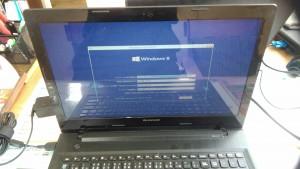 LENOVO G50 Windows8.1のクリーンインストール