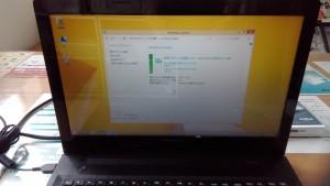 LENOVO G50 Windows Updateを行ない最新の状態にする