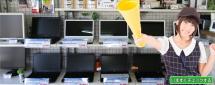 都城市のパソコンサポーターゼットでは店長厳選の中古パソコンやディスプレイ・パーツを激安・格安にて店頭販売中!!