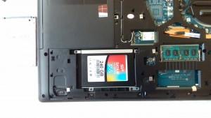 LENOVO G50-30 SSDへ交換