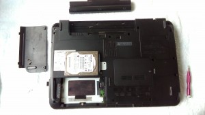 LIFEBOOK AH56/D FMVA56DRG HDD取り出し