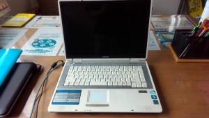 SOTEC ONKYO R505A5 インターネットが固まる
