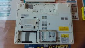 Lavie LL370/S (PC-LL370SG1Y) HDD取り出し