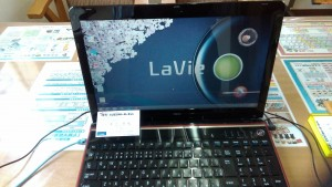 Lavie LS350/R (PC-LS350RSR-E3) リカバリ