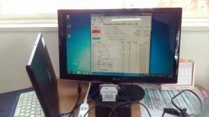 dynabook Qosmio T560/T4AB(PT560T4ABTB) HDD診断をすると異常