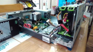 PRIMERGY MX130 S2 SSD換装