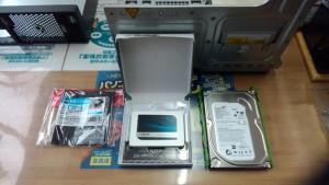 PRIMERGY MX130 S2 SSD換装に必要な変換ブラケット