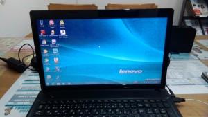 パソコン修理|LENOVO G585| 初期設定完了