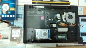 LENOVO G50 HDD取付