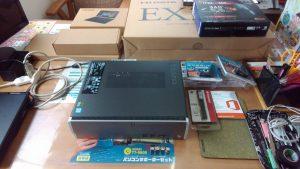 ideacentre510s、ideapad miix 310、ex-ld2381d、wn-ax2033gr、wnac433uaをお買上後、設定・サポートを行ないました