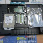 パソコンサポート|宮崎県|TOSHIBA Satellite B554/K|容量不足によりハイブリッドハードディスク(SSHD)へ換装