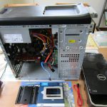 パソコンサポート|北諸県郡三股町|DELL XPS 8700|SSDへ換装及び内部クリーニング