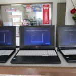 パソコン販売|都城市内の団体様よりFUJITSU LIFEBOOK A577/SX カスタムモデル 3台をご注文頂きました。只今、PC初期設定作業中