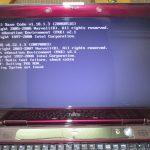 パソコン修理|都城市夏尾町|FMV-BIBLO NF/E50(FMVNFE50C)|電源を入れると英文が表示されWindowsが起動しない。Operating System not found