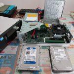 パソコンサポート|都城市山田町|FUJITSU ESPRIMO D583/H FMVD07004|HDD容量不足により大容量タイプへ換装