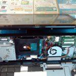 使用中に電源が切れる。FUJITSU ESPRIMO WH77/M